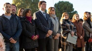 Durante el acto hubo un minuto de silencio por el fallecimiento del ex presidente Fernando De La Rúa.