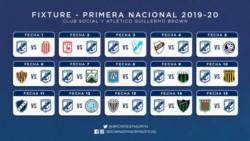 El programa de partidos que tendrá Guillermo Brown en el torneo.