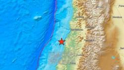 Un sismo de 6,6 de magnitud se sintió este jueves en el centro de Chile.