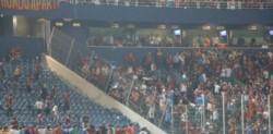 El club de Boedo deberá pagar una multa de 41.377 dólares por los incidentes que algunos de sus simpatizantes protagonizaron durante el partido ante Cerro Porteño.