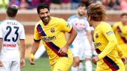 Barcelona vapuleó a Napoli en su último partido de pretemporada.