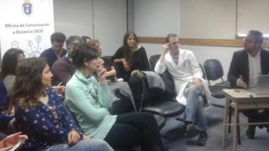 Del encuentro participaron referentes nacionales, provinciales y de distintas ciudades de la provincia.