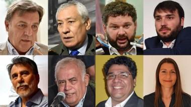 Ocho listas. La oferta electoral que presentará Chubut para llegar a ocupar tres bancas dentro del Congreso de la Nación.