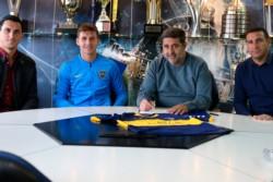 Nicolás Burdisso dio por terminado el mercado de pases para Boca.