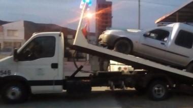 Dos rodados fueron incautados por Automores de la Policía.