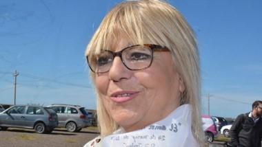 Optimismo. Estela Hernández dijo que ya dos bancas están aseguradas.