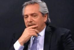 """A. Fernández: """"El único responsable de lo que le pasa a la Argentina se llama Mauricio Macri""""."""