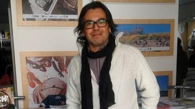 Ariel Gómez mostró parte de su trabajo y brindó charlas.