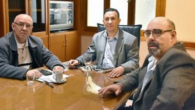 Maderna se reunió con Maza y Adrián Febrero.