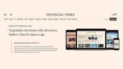 Financial Times: los inversores creen que a Macri se le acabó el tiempo.