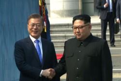 Los dos líderes en un momento histórico que parece menos esperanzador que lo imaginado.