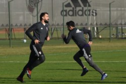 El plantel realizó un nuevo entrenamiento en River Camp, ya empezando a definir el equipo para el clásico.