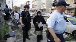 Seis policías baleados durante cuatro horas de tiroteo en Filadelfia.