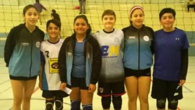 Jugadoras y jugadores de la Escuela Madrynense a la seleccion sub 13.