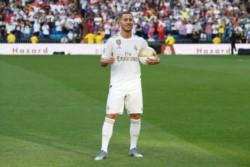 Eden Hazard heredó el número más icónico del Real Madrid; el 7.