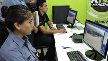 Las cámaras de seguridad ayudan al trabajo policial.