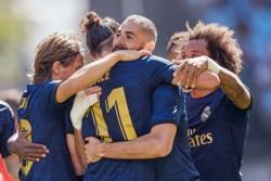 El Merengue superó al Celta gracias a los goles de Benzema, Kroos y Lucas Vázquez.
