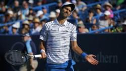Djokovic, N°1 del mundo y defensor del título, perdió 3-6, 6-3 y 6-3 con Medvedev (8°) en semifinales del Masters 1000.