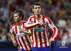 Victoria colchonera: por la primera fecha de La Liga. Atlético de Madrid derrotó 1-0 al Getafe en el Wanda Metropolitano con un gol de Álvaro Morata.