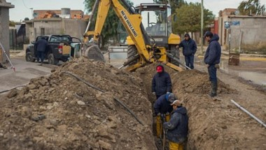 Se completó una obra que mejora el caudal y la presión de agua para ese populoso sector de la ciudad.