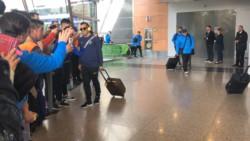 La plantilla de Boca Juniors salió de Buenos Aires rumbo a Quito en vuelo chárter.