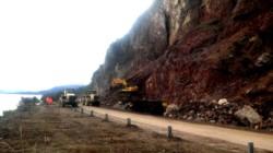 La circulación entre las localidades de Villa La Angostura y San Carlos de Bariloche será rehabilitada este martes desde las 15 en media calzada.  FOTO: GENTILEZA_LM NEUQUÉN
