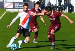 Ignacio Scocco no jugaba desde el pasado 17 de marzo ante Independiente.