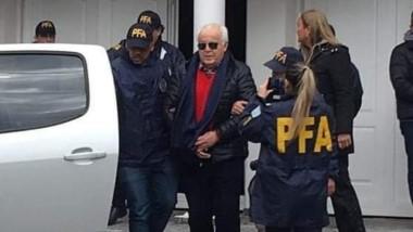 Oscar Herme Juárez tiene 78 años y lleva décadas como secretario general del Sindicato Unidos Portuarios Argentino.