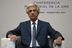 El presidente de Uruguay, Tabaré Vázquez, anunció que le descubrieron un