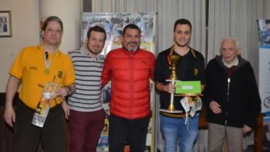 Alan Pichot, del Club Obras de Buenos Aires, fue el mejor en el torneo IRT de ajedrez que se realizó en Trelew.
