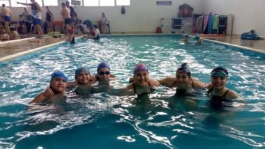 Nadadores de Trelew en 2da fecha del Provincial de Natación Adaptada.