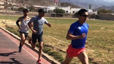 Arbe se pone a punto en Cachi para correr los 21K de Buenos Aires.