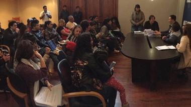 Los padres de niños con discapacidad expusieron un amplio  temario de solicitudes al intendente.