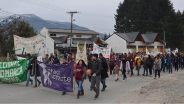 Movilización en la Comarca. Hoy estatales de la zona viajarán a Sarmiento y Rawson