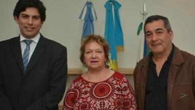 Nasser, a la derecha de la foto, será el encargado de un área caliente como la secretaría de Hacienda.