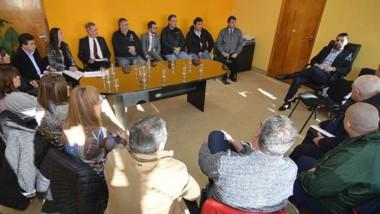 El encuentro entre las autoridades provinciales y los gremios