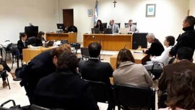 La relación signada en un marcod e violencia de género entre Servera y arrieta fue abordada en la audiencia.