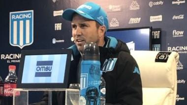 Coudet habló sobre los rumores que indican que existe una ruptura entre el técnico y los jugadores de Racing.