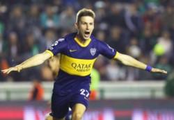 Soldano anotó el gol más rápido de Boca en la era profesional en torneos de primera división.