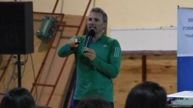 Con la presencia de Marcelo Bolognese, se realizó una capacitación.