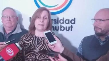 """""""Abre la puerta para una cantidad de concreciones"""", dijo Graciela Di Parna, rectora de la UDC."""