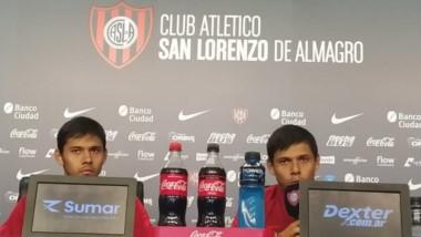 """Angel Romero en conferencia """"Vi bien al equipo, compacto. Por supuesto que hay muchas cosas por mejorar, pero estamos por el buen camino""""."""