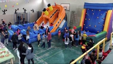 La Junta Vecinal organizó las actividades en el Salón De Usos Múltiples de la sede vecinal.