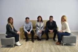 Todos. Cristina, Massa, Kicillof, Magario y Galmarini.
