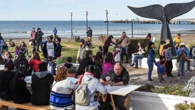 La comunidad volvió a acompañar la propuesta gastronómica en una jornada espléndida.