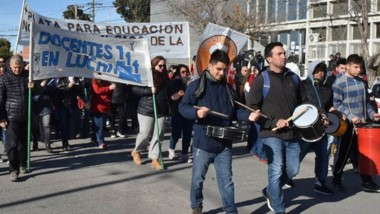 Una de las marchas de autoconvocados durante la semana que pasó.