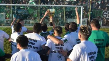 Germinal de Rawson, campeón del Apertura 2019, se adjudicó la plaza directa de la Liga del Valle al Regional.