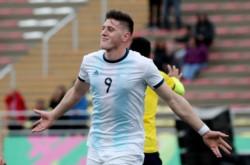 El cordobés volvió a participar con un gol en el triunfo de la Selección Argentina.