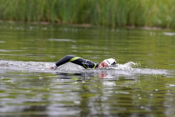 La cordobesa Cecilia Biagioli fue plata  en la prueba de aguas abiertas.