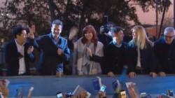 La foto más esperada: Cristina junto a Sergio Massa compartiendo un mismo palco.